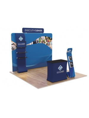 10ft Portable Trade Show Display Kit