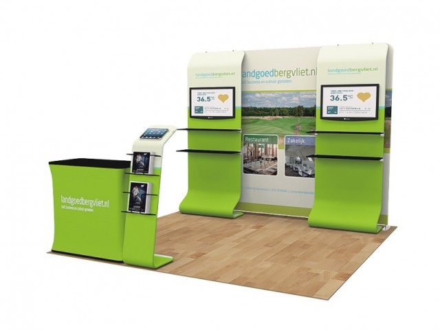 10 x 10ft Portable Exhibition Stand Display Booth G