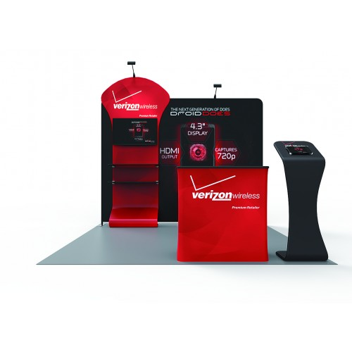 10 x 10ft Portable Trade Show Booth