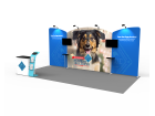 10 x 20ft Custom Trade show Booth Combo 02
