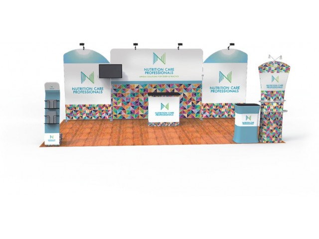 10 x 20ft Portable Exhibition Stand Display Booth J