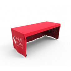 Custom Logo Printed 6ft Loose Fit Table cover