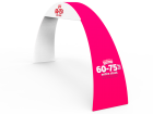 Custom Arch Banner Stand