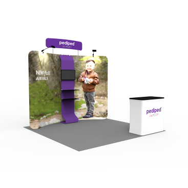 10 x 10ft Portable Exhibition Stand Display Booth 12