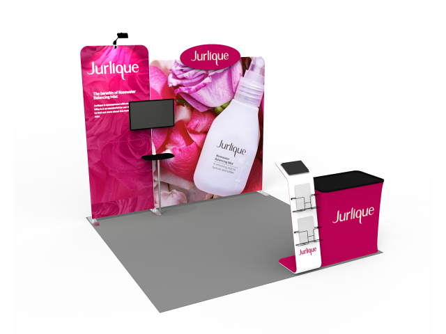 10 x 10ft Portable Exhibition Stand Display Booth 14