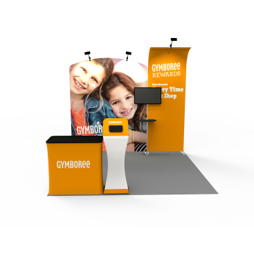 10 x 10ft Portable Exhibition Stand Display Booth 15