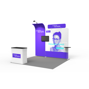 10 x 10ft Portable Exhibition Stand Display Booth 16