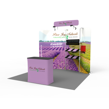 10 x 10ft Portable Exhibition Stand Display Booth 19