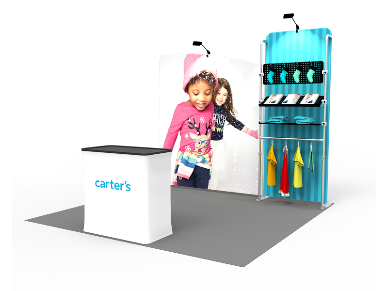 10 x 10ft Portable Exhibition Stand Display Booth 21