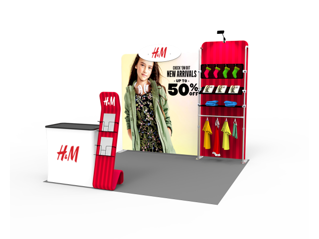 10 x 10ft Portable Exhibition Stand Display Booth 22