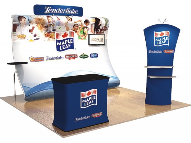 10 x 10ft Portable Exhibition Stand Display Booth H