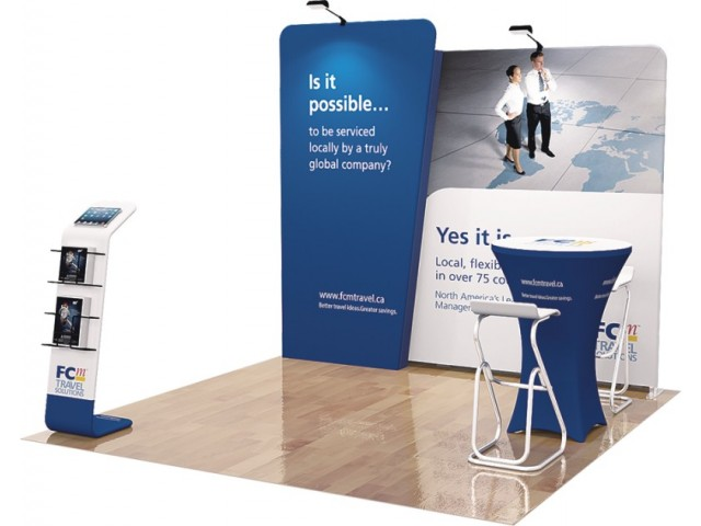 10 x 10ft Portable Exhibition Stand Display Booth N