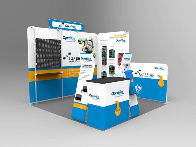 10 x 10ft Portable Exhibition Stand Display Booth O