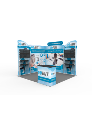 10 x 10ft Portable Exhibition Stand Display Booth Q
