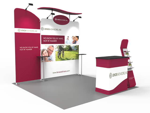 10 x 10ft Portable Exhibition Stand Display Booth R