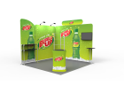 10 x 10ft Portable Exhibition Stand Display Booth T