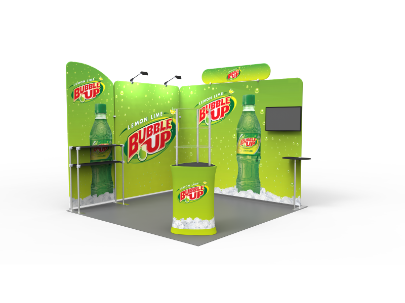 Portable Exhibition Display : Ft portable exhibition stand display booth t eastern signs