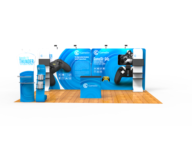 10 x 20ft Portable Exhibition Stand Display Booth I