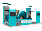 10 x 20ft Portable Exhibition Stand Display Booth 14