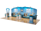 10 x 20ft Portable Exhibition Stand Display Booth F