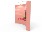10ft Curved Pop Up Display