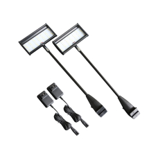 2 pcs LED Lights for Trade Show Display