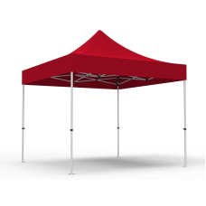 10 x 10ft  Pop Up Canopy with Solid Color Roof