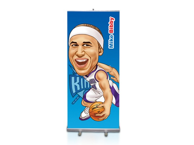 Standard Single Side Printed Roll Up Banner Stand