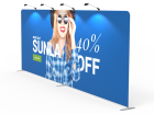 20ft Straight Tension Fabric Display