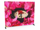 Size Adjustable Step and Repeat Banner