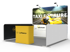10 x 10ft Portable Tension fabric Trade Show Booth 01