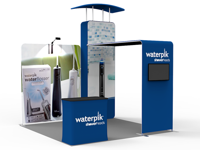 10 x 10ft Portable Exhibition Stand Display Booth 07