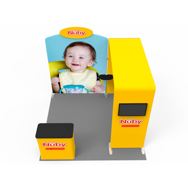 10 x 10ft Portable Exhibition Stand Display Booth 08