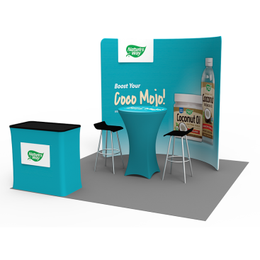 10 x 10ft Portable Exhibition Stand Display Booth 11