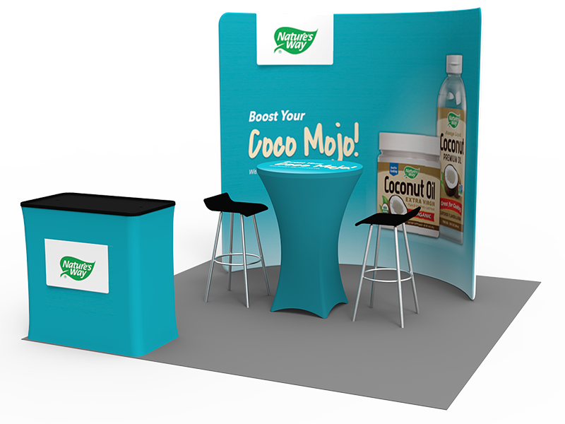 Portable Exhibition Stands In : Ft portable exhibition stand display booth eastern signs
