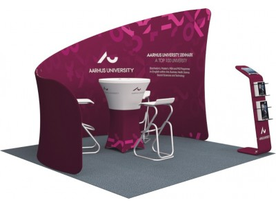 10 x 10ft Portable Exhibition Stand Display Booth L
