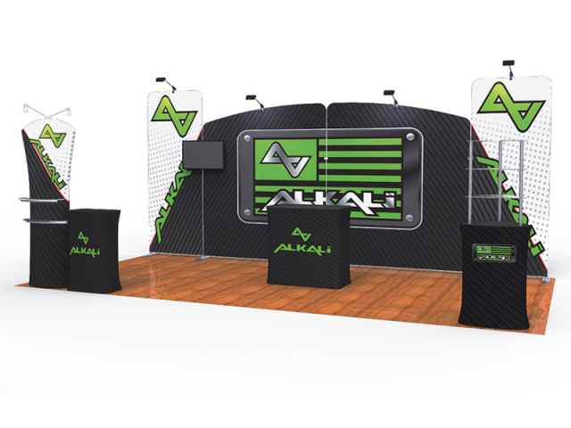 10 x 20ft Portable Exhibition Stand Display Booth G