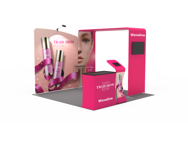 Waveline 10 x 10ft Portable Exhibition Stand Display Booth 06